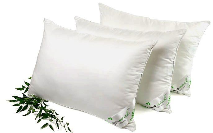 беле подушки