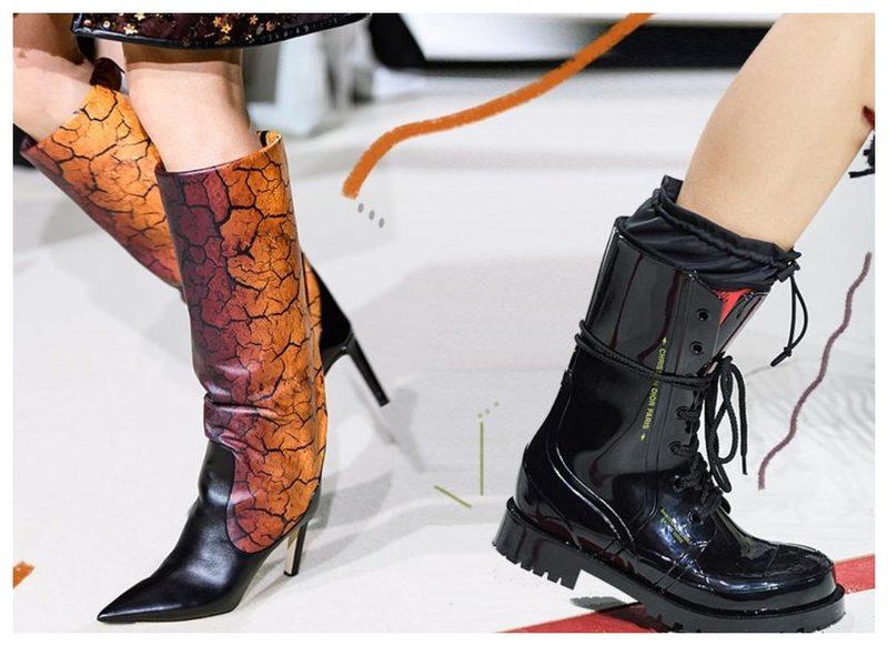 каблук и носок