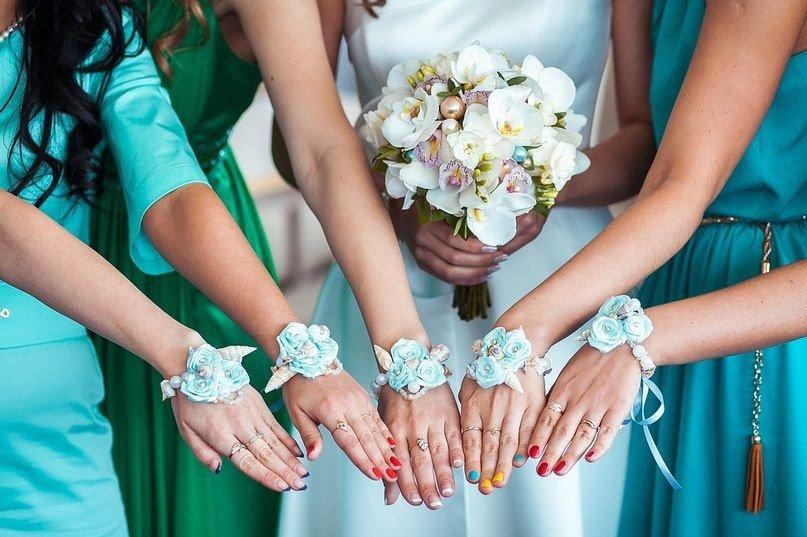 Как сделать браслет для подружек невесты самой