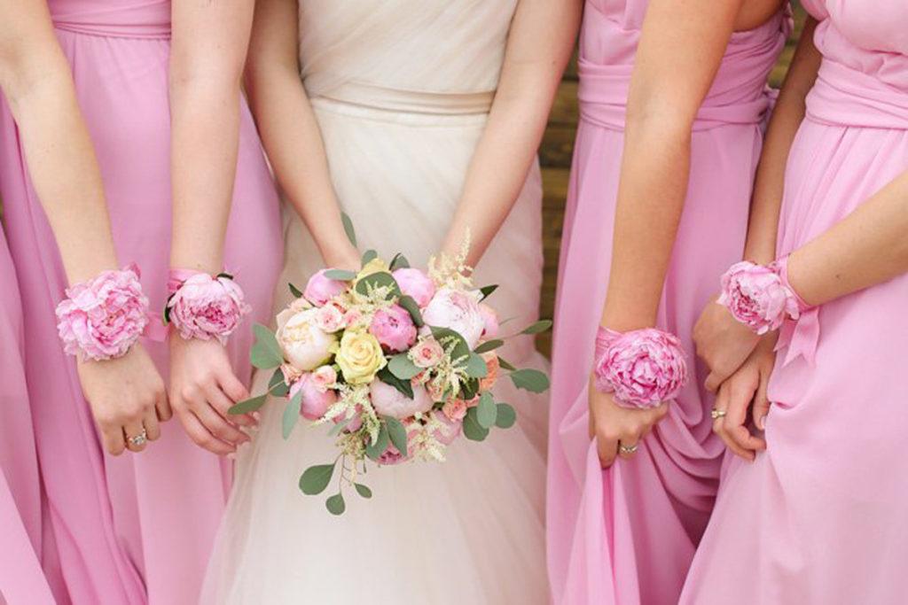 Как сделать браслет для подружек невесты самой 4