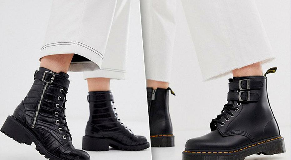 грубые ботинки