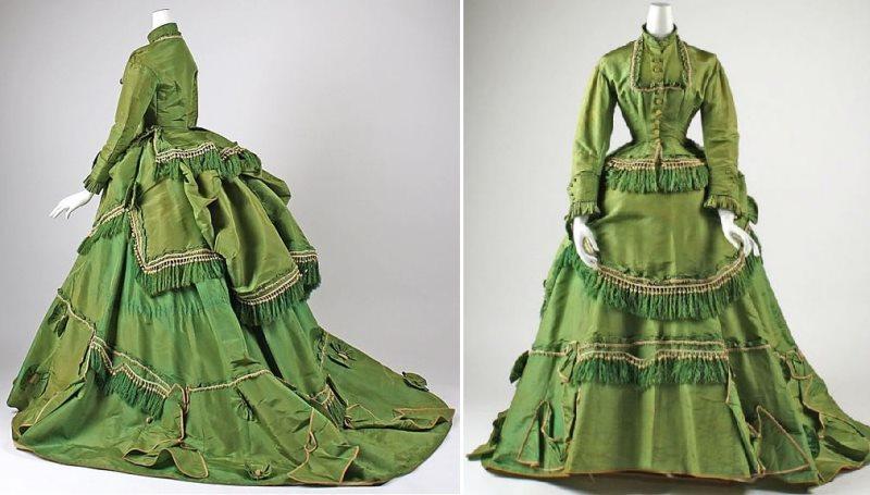 таринное платье из тафты
