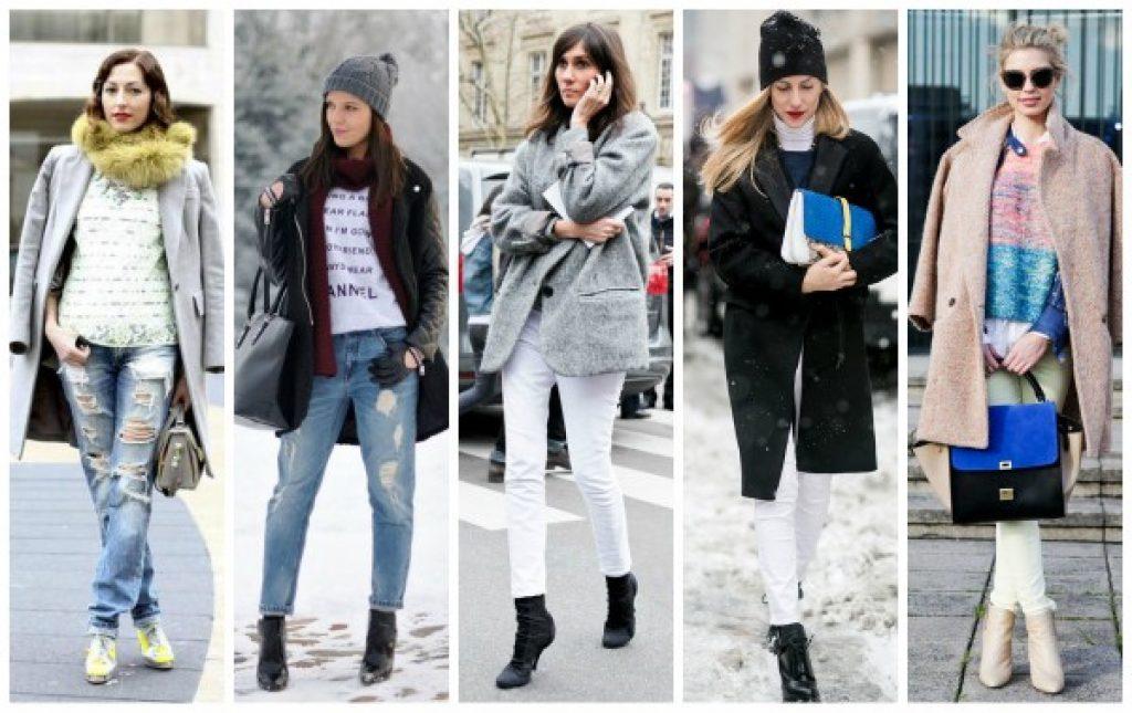 Светлые джинсы зимой: «за», «против», как носить
