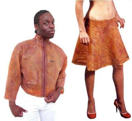 Первые штаны из человеческой кожи