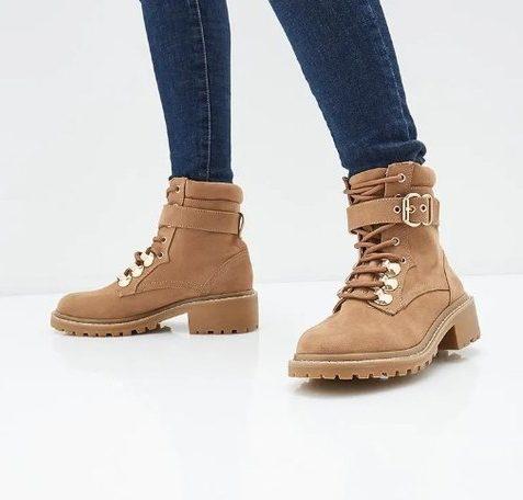 Трекинговые ботинки.