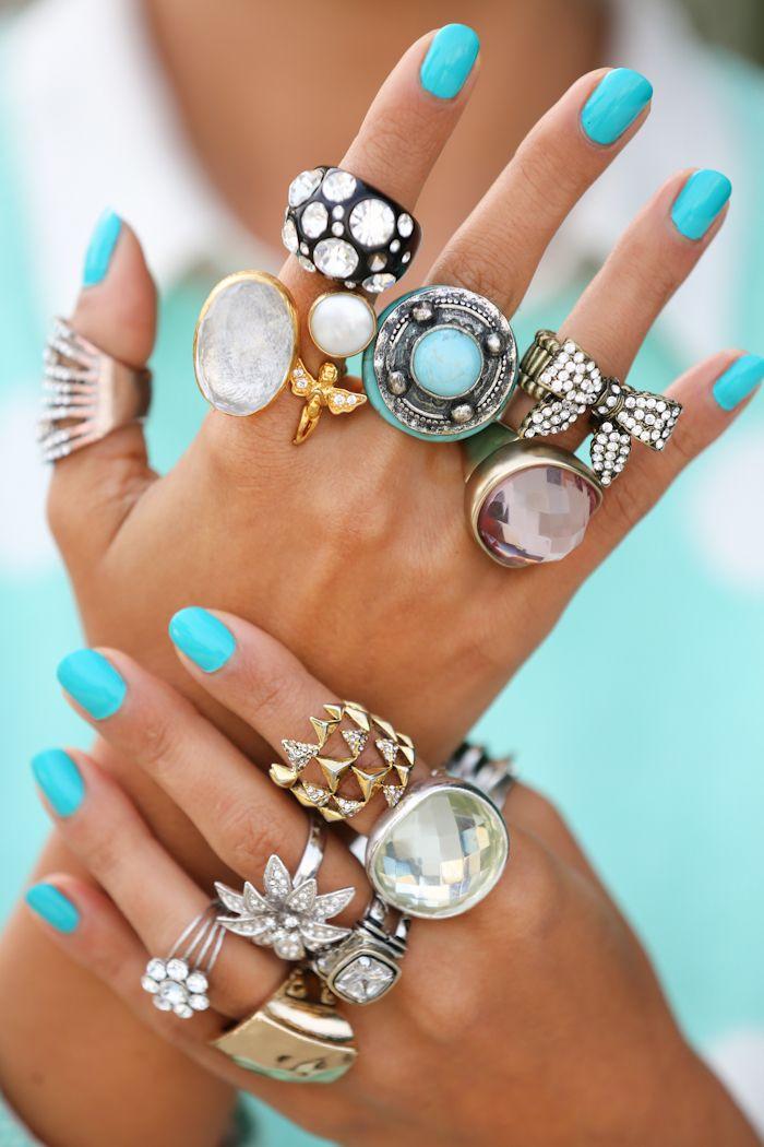Крупные кольца.