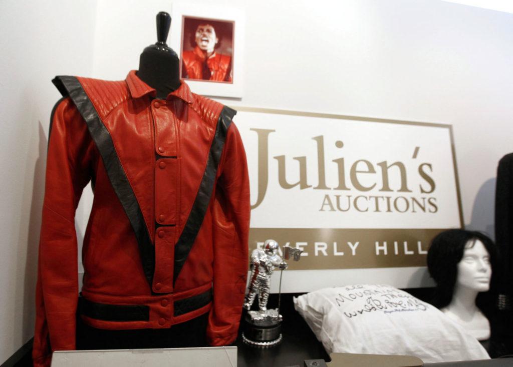 Куртка Майкла Джексона.