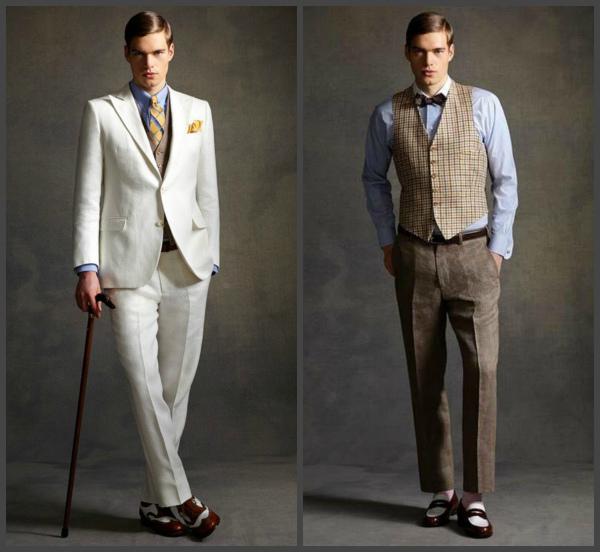 брюки в стиле великого Гэтсби