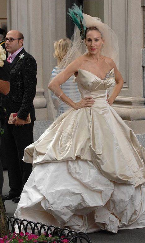 Свадебное платье Кэрри от Vivienne Westwood.
