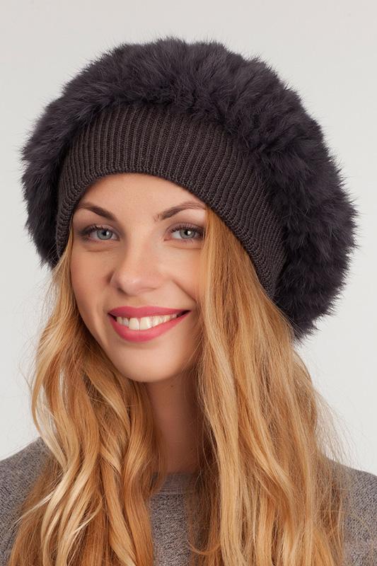 комбинированная шапка