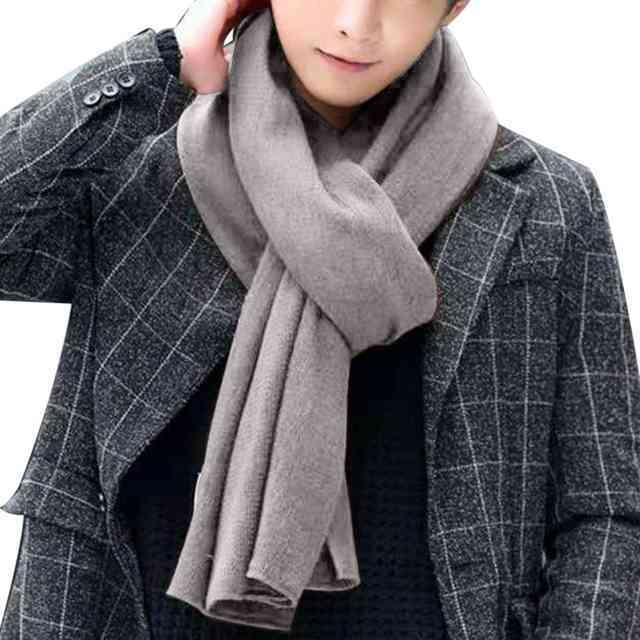 классический мужской шарф