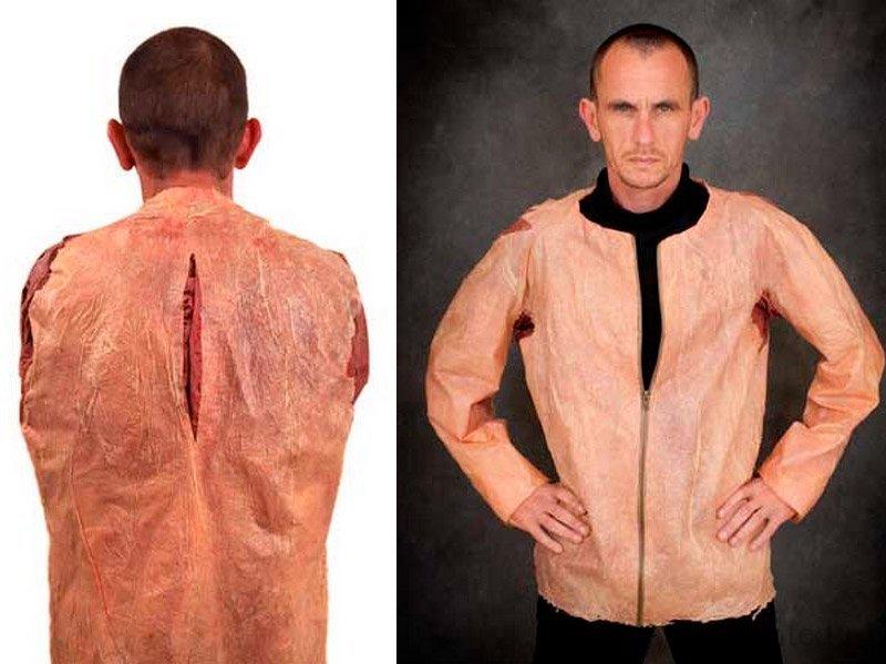 куртка из человеческой кожи