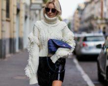Какие свитера с косичками выбирают звёзды стритстайла
