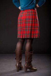 шотландская юбка в клетку