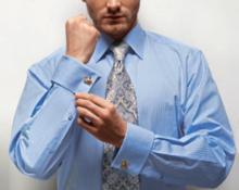 Стрелка на рукаве мужской рубашки: допустимо или нет