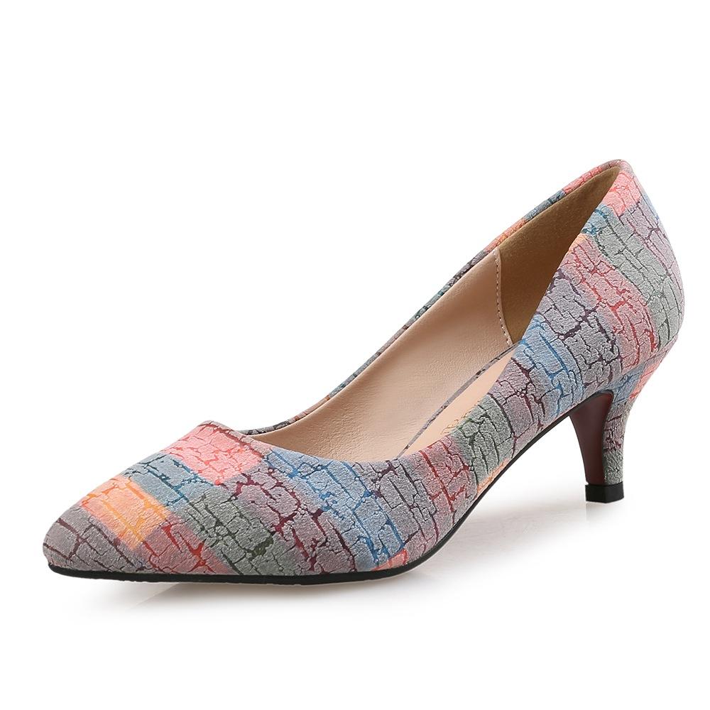 Туфли с каблуком рюмка.