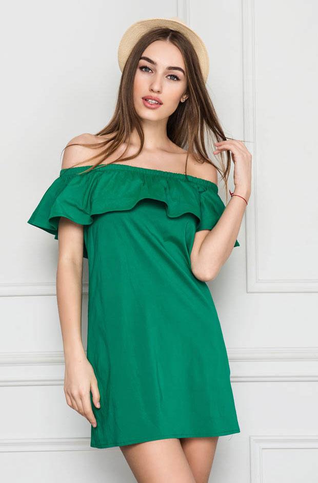 Зелёная туника.