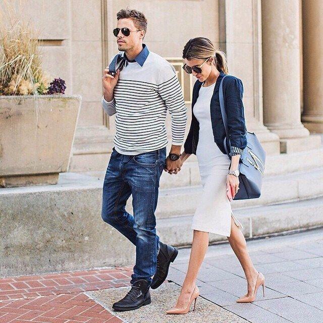 пара на улице