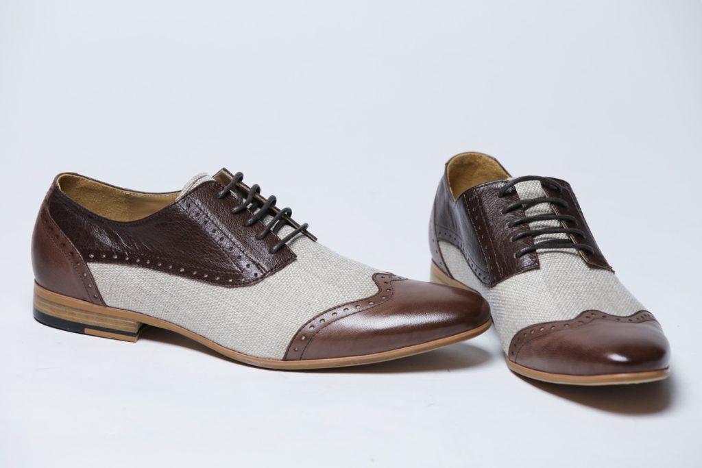 Комбинированные туфли.