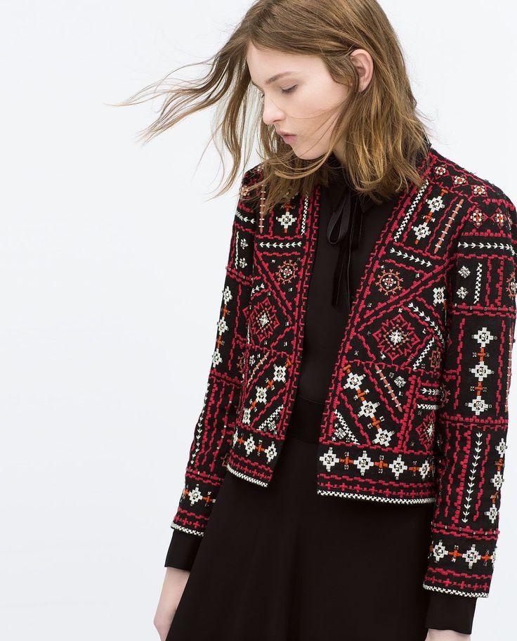 Пиджак этно.