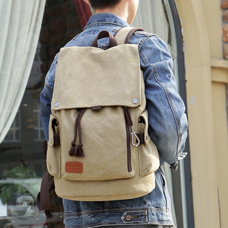 Текстильный рюкзак.