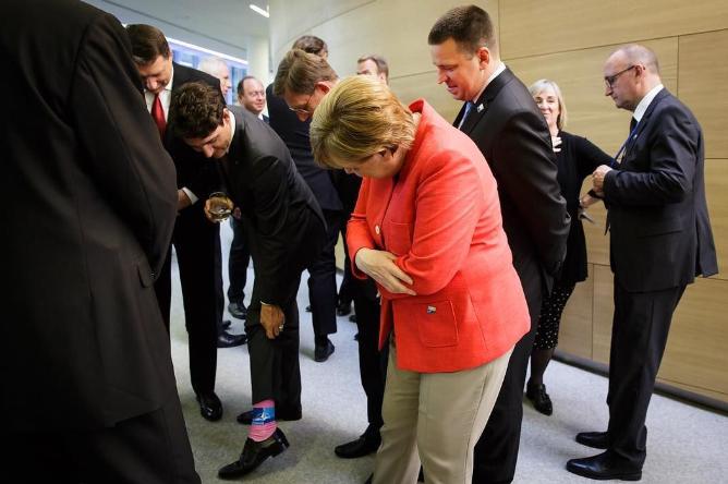 с Меркель