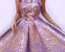 Росокшное платье.