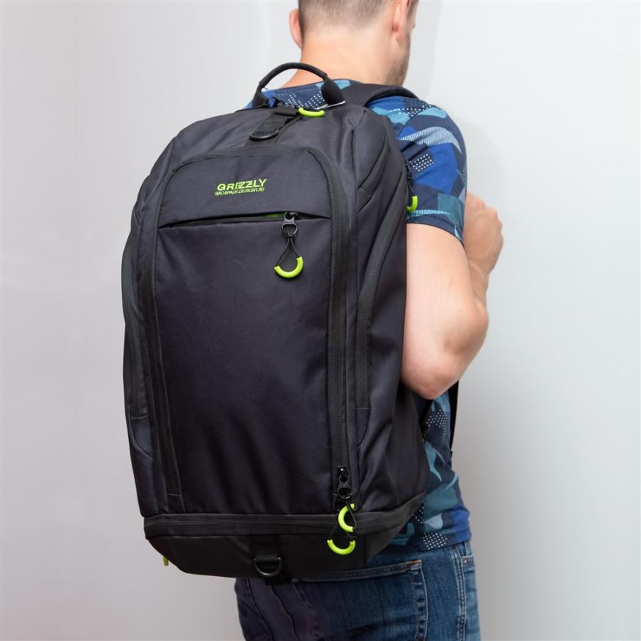 Текстильный рюкзак трансформер.