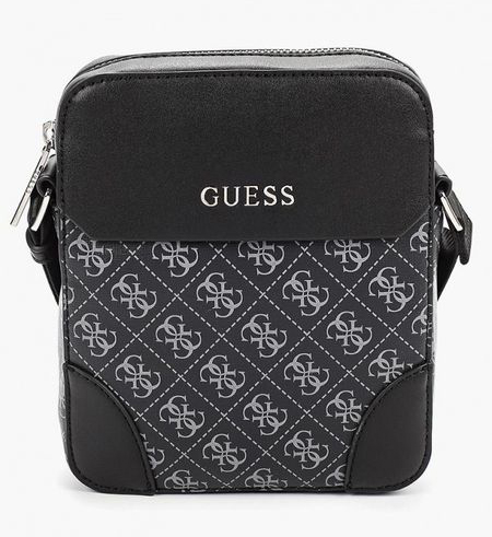 Надпись на мужской сумке.