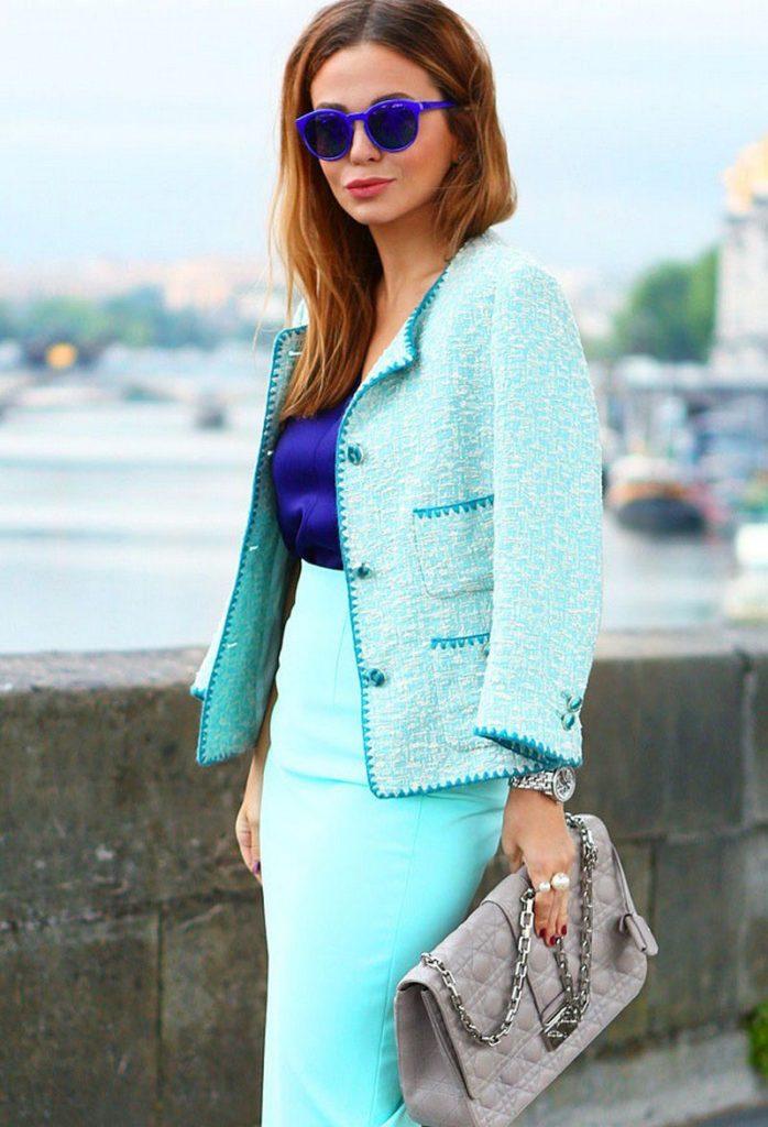 Пиджак Шанель.