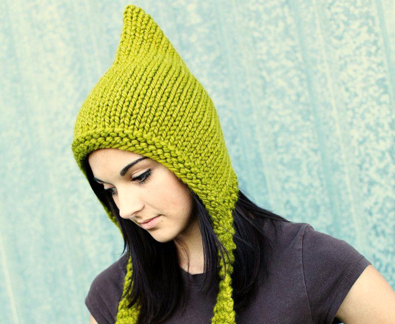 шапка эльфа с ушками