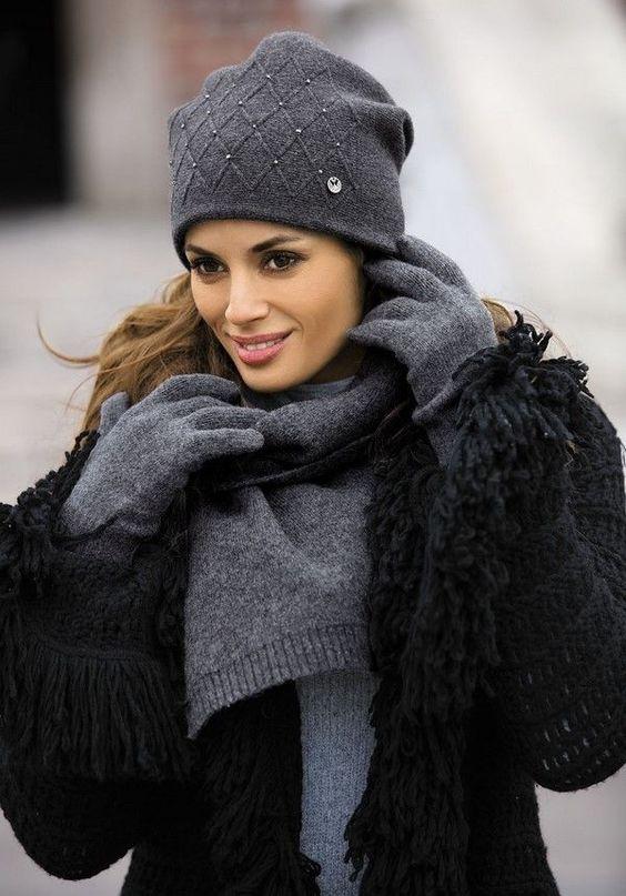 шарф из тонкого трикотажа