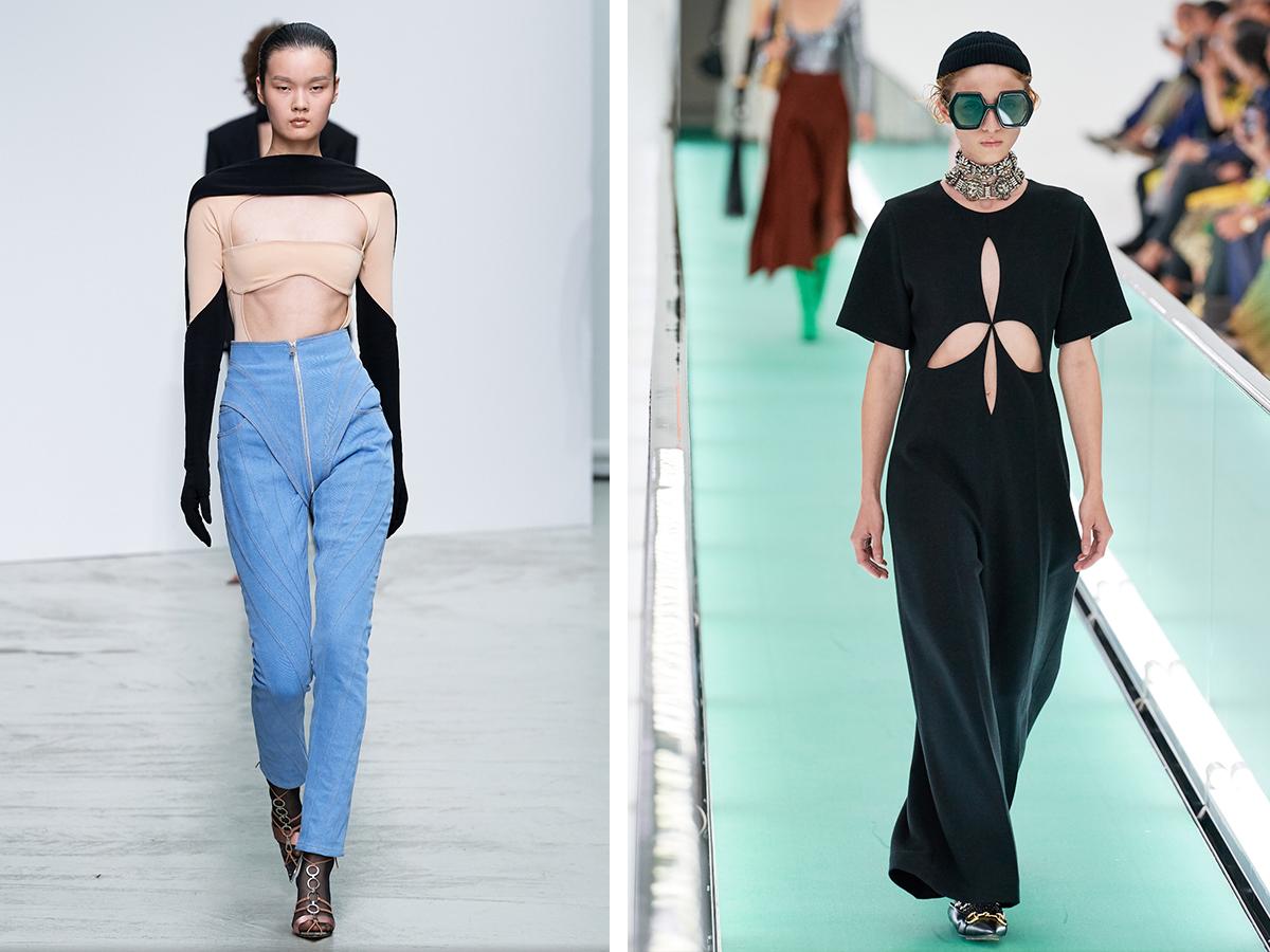 Разрезы и вырезы – модный тренд-2020