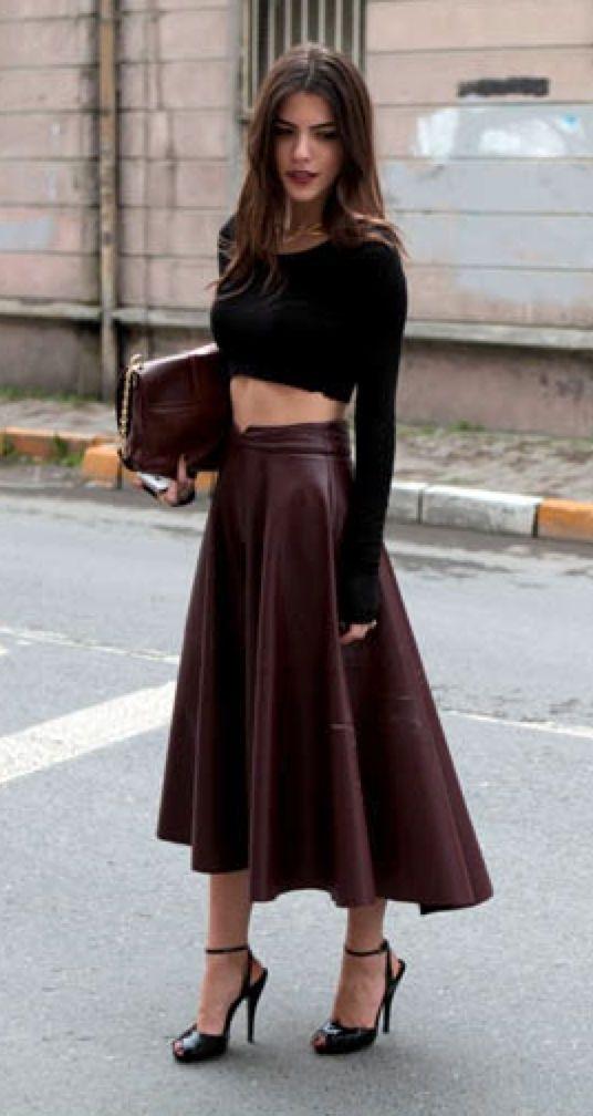 Асимметричная юбка.