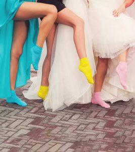 Цветные носки.