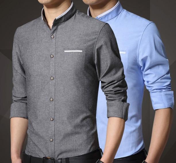Приталенные рубашки.