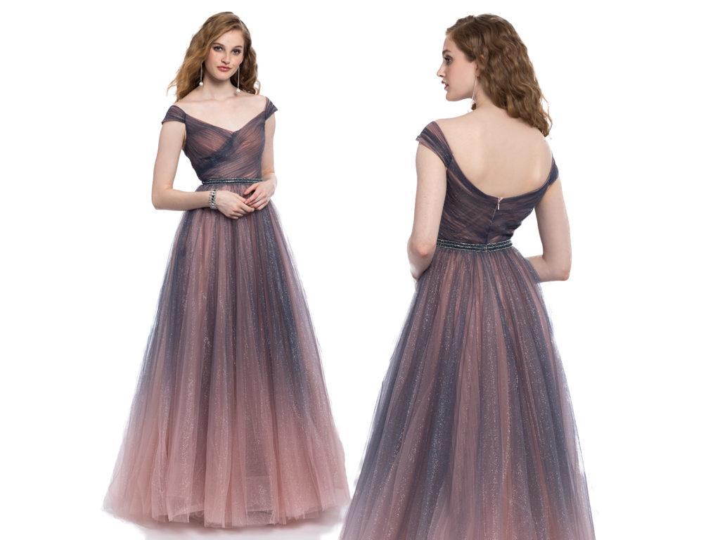 Платье омбре.
