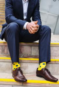 Жёлтые носки.