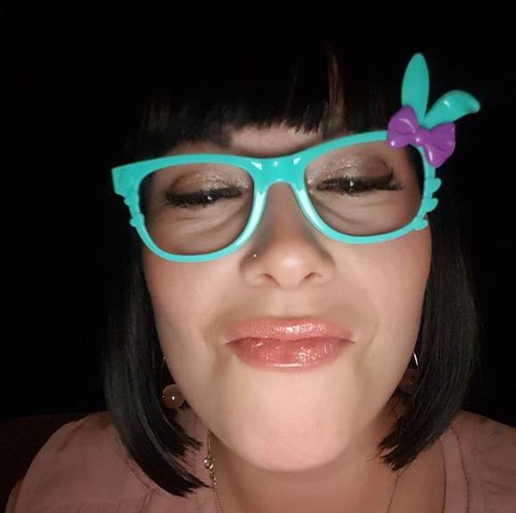 бирюзовые очки