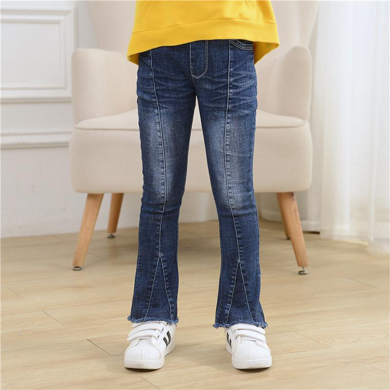 Модель джинсов для девочек клёш.