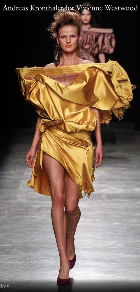 Одежда от Вивьен Вествуд.