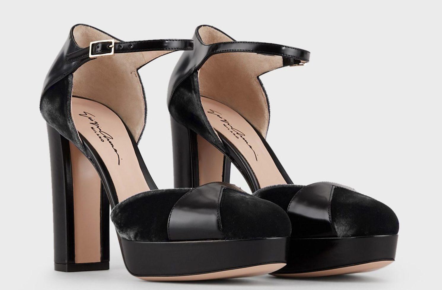 Обувь на платформе и каблуке.