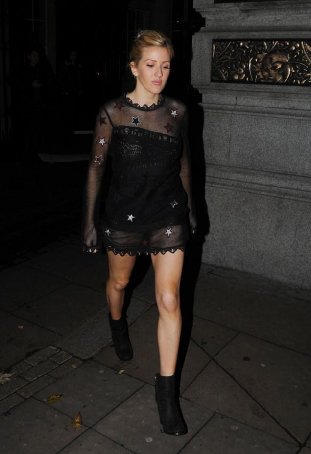 Ellie Goulding одетая как подросток