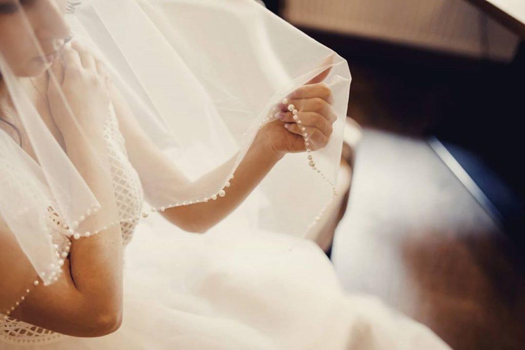 фата венчальная