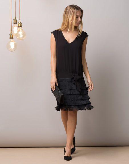 Повседневное платье в стиле 20-х годов.