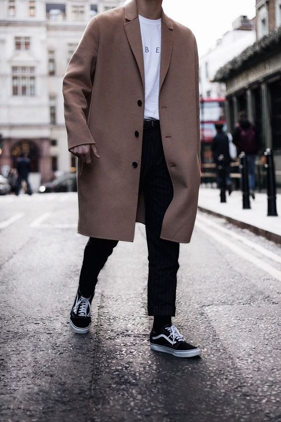 Пальто оверсайз мужское.