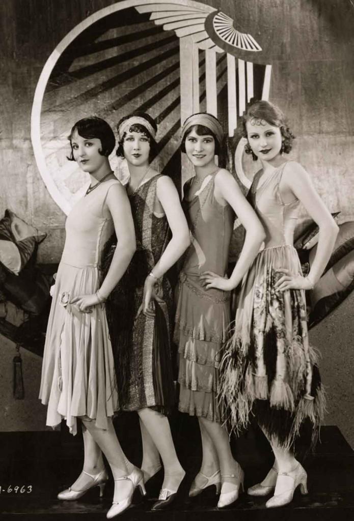 Платья 20-х годов.
