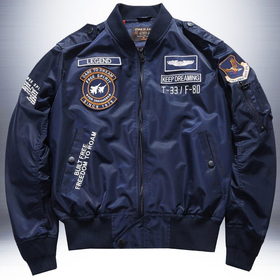 куртка американского пилота