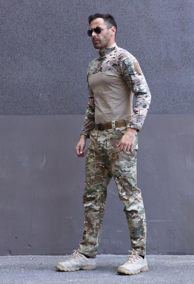 солдатский костюм