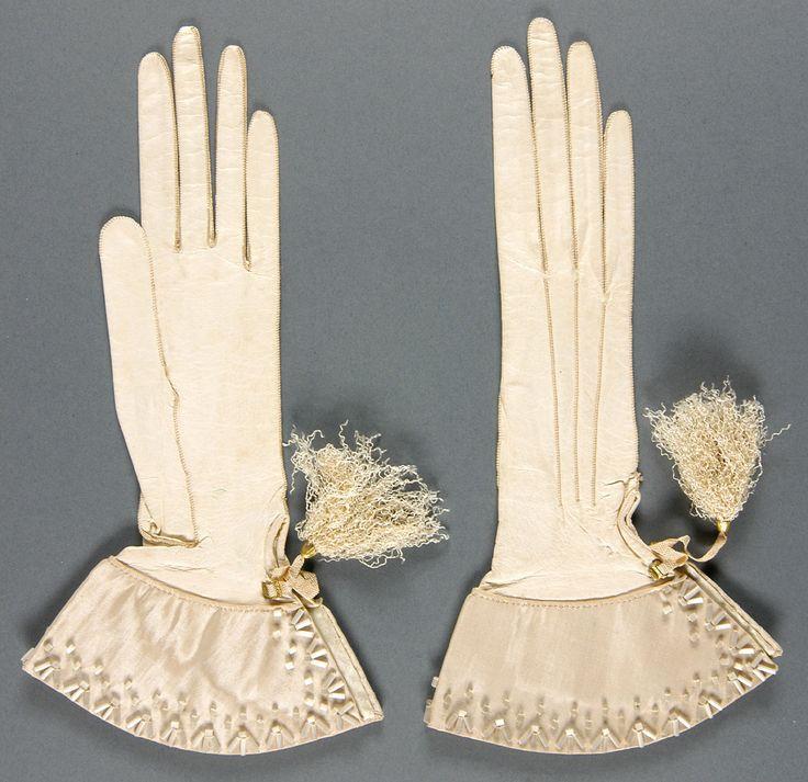 перчатки 18 век
